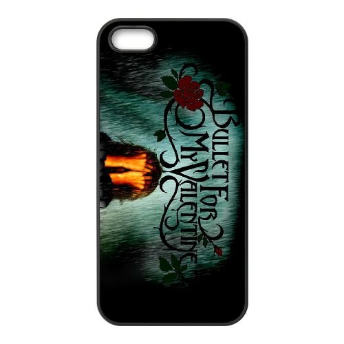 Bullet For My Valentine 006 2 coque iPhone 5 5S cellulaire cas coque de téléphone cas téléphone cellulaire noir couvercle EOKXLLNCD22582