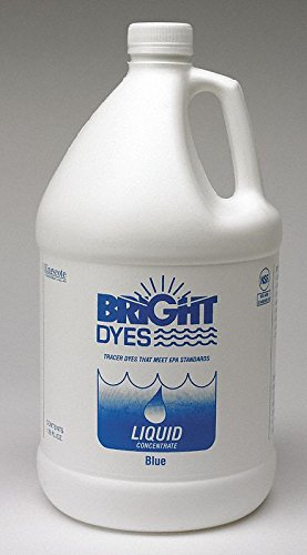 Dye Tracer Liquid,Blue,1 Gallon by BRIGHT DYES
