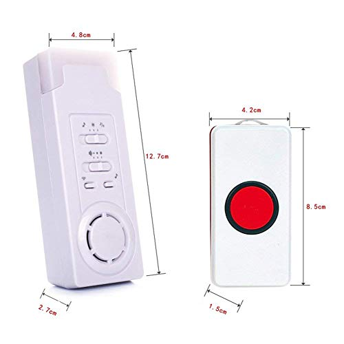 DishyKooker Wireless Call Home Elderly Patient Emergency Long Distance Wireless Call Device 1 to 2 by DishyKooker (Image #7)