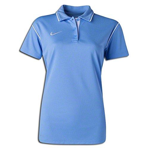 Nike Polo pour femme Gung-ho Bleu ciel/blanc L