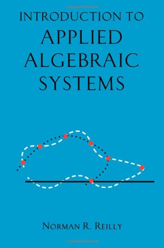 Introduction to Applied Algebraic Systems for $<!--$55.87-->