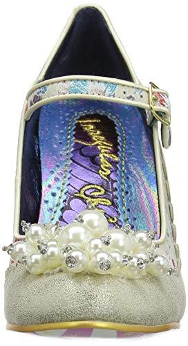 para Shoesbury D Merceditas Marfil Irregular Mujer Choice Cream zgnUqxw8S