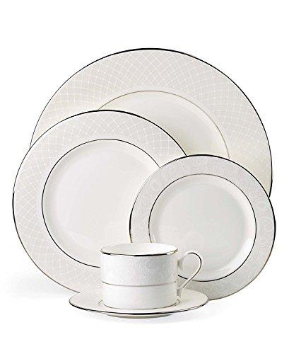 Pasta Rimmed Plate (Lenox Venetian Lace Pasta Bowl/Rim Soup)