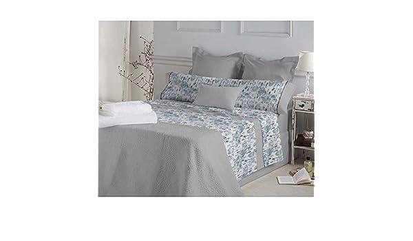 DON ALGODÓN.- Juego de sábanas Marie Color Azul para Cama de 150 ...