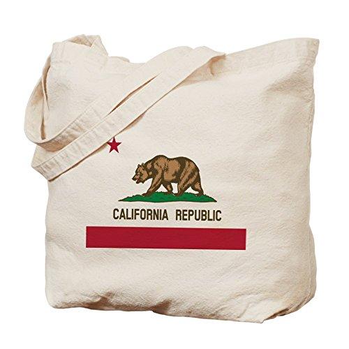 CafePress–California República–Gamuza de bolsa de lona bolsa, bolsa de la compra