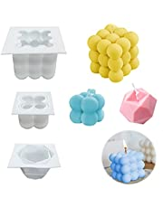 Candle Molds for Candle Making, MaehSab 3D Silicone Candle Molds, Candle Mould for Candle Molding Handmade DIY, Candle Mold for Party, Christmas, Gift
