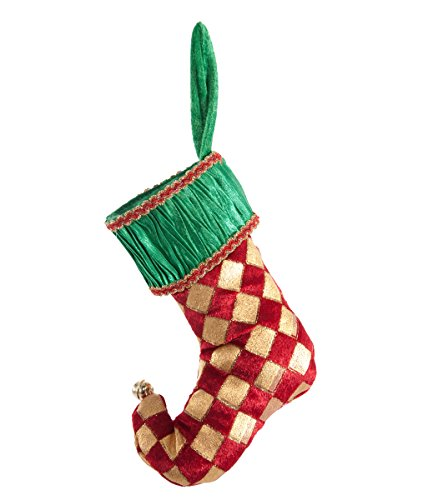 Christmas Elf Mini-Stocking Ornament - Katherines Collection Christmas Stocking