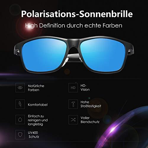 Bleu Lunettes de Glazata Homme soleil 6IA64WP