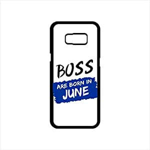 Fmstyles - Samsung S8 Mobile Case - Boss Are Born In June