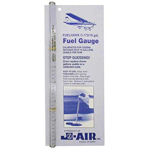 FuelHawk Fuel Gauge - Cessna 172 - 19 Gallon by FuelHawk