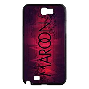 C-EUR Diy Phone Case Maroon 5 Pattern Hard Case For Samsung Galaxy Note 2 N7100