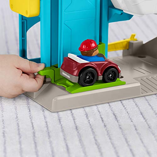 41e3a1M9nHL - Fisher-Price Little People the Helpful Neighbor's Garage