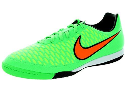 Nike Menns Magista Onda Ic Innendørs Fotball Sko Gift Grønn, Total Oransje, Svart