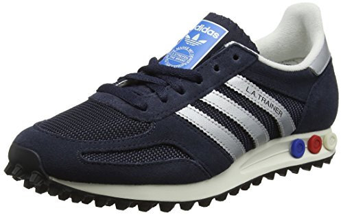 adidas Herren La Trainer OG Sneaker Blau (Legend Ink/Matte Silver/Night Navy)