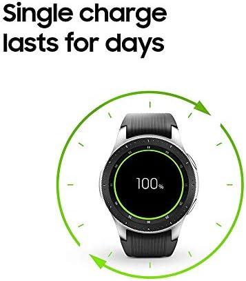Samsung Galaxy Watch (46mm) Silver (Bluetooth) US Version (Renewed)