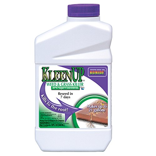 - Bonide (BND7461) - KleenUp Weed Killer Concentrate, Weed and Grass Control 41% Super Concentrate (1 qt.)