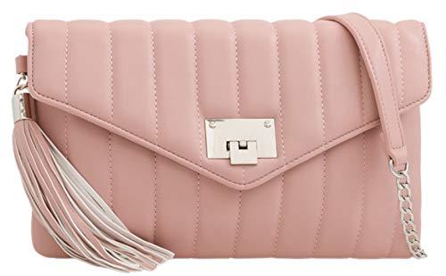 HandBags Quilted Bag Blush Girly HandBags Clutch Girly Tassel qZxw6HTE7