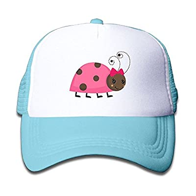 Jay94 Mesh Baseball Caps Snapback Hat Ladybug Cute Boys-Girl Adjustables from Jay94