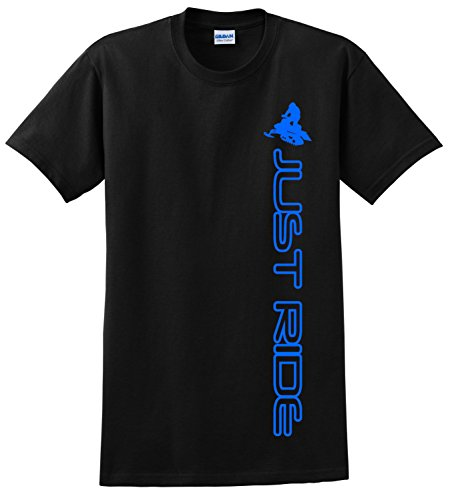 JUST RIDE Sled Snowmobile Youth Shirt
