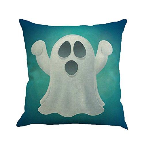 NPRADLA Cojin FundasHappy Halloween Sofá de Lino Funda de ...