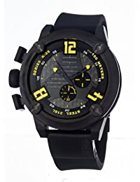 Welder by U-Boat K28 Oversize Chronograph Black Ion-Plated Steel Mens Watch K28-7104