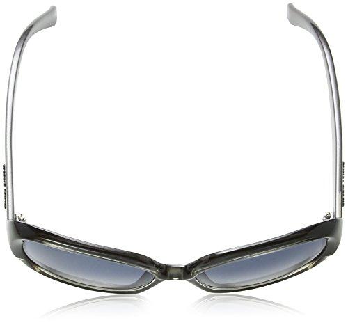 026aad9574acd ... Armani Jeans - Lunette de soleil GA 909 S Wayfarer Black   Grey  Patterned Frame