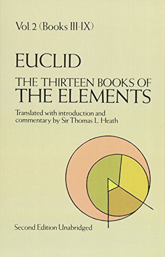 The Thirteen Books of the Elements, Vol. 2: Books 3-9