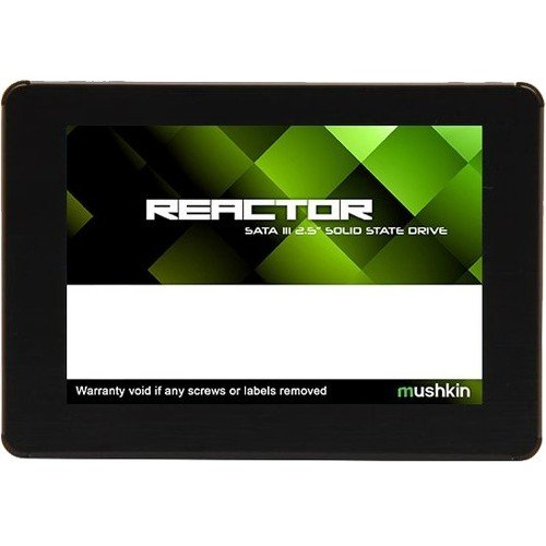 Mushkin REACTOR 250GB Internal Solid State Drive (SSD) - 2.5 Inch - SATA III - 6Gb/s - MLC - 7mm - MKNSSDRE250GB-LT by Mushkin