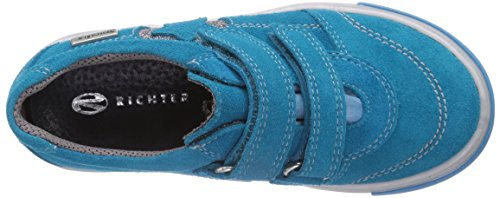3132 Türkis silver Richter Basses Kinderschuhe Turquoise 521 turquoise Baskets 5710 Fille Fedora qw8fO8E