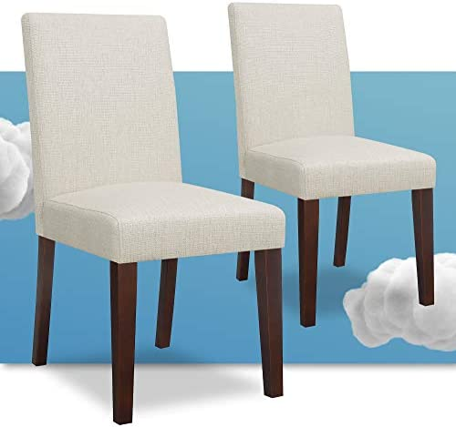 Serta Liam Modern Fabric Upholstered Dining
