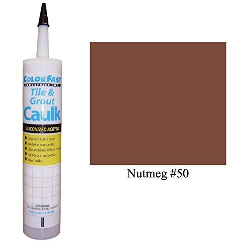 Color Fast Caulk Matched to Custom Building Products (Nutmeg Sanded)