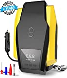 Voroly Digital Car Tyre Inflators Digital with Auto Cut Off 12V DC Portable Air Compressor with LED Light