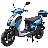 TaoTao POWERMAX-150 Gas Street Legal Scooter - Blue