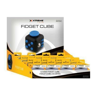 24pc Cubes Blk Wht Red Blue by Xtreme Cables