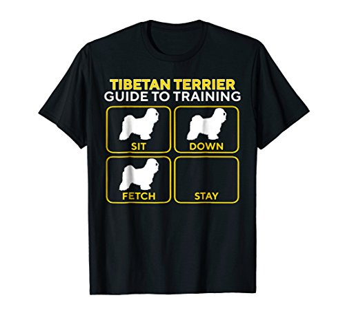 Tibetan Terrier T-Shirt - Funny Guide To Training Cool Gift