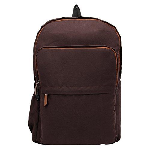 Snoogg - Bolso mochila  para mujer Marrón marrón
