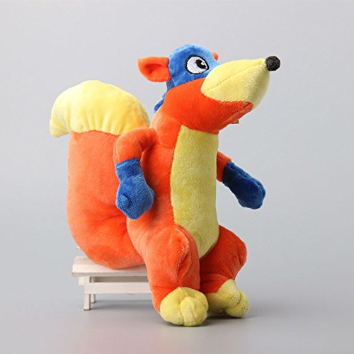 Dora the Explorer Swiper Fox 8 Inch Toddler Stuffed Plush Kids Toys by kidsheaven