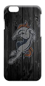 Rugged iPhone 6 Case - Broncos Plastics Snap-on Hardshell Case for iPhone 6 4.7 Inch