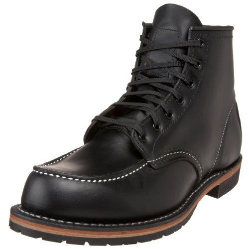 Red Wing Heritage Men's 6-Inch Beckman Moc Toe Boot,Black...