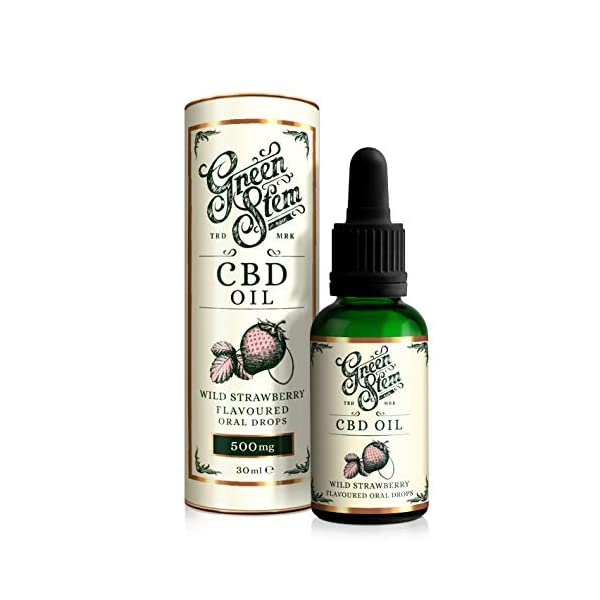 Green Stem Strawberry CBD Oil 500mg