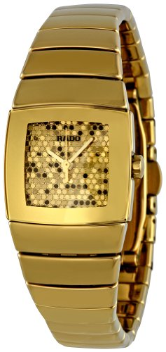 Rado Women's R13776252 Sinatra Gold Glitter Dial - Rado Ladies Gold Watch