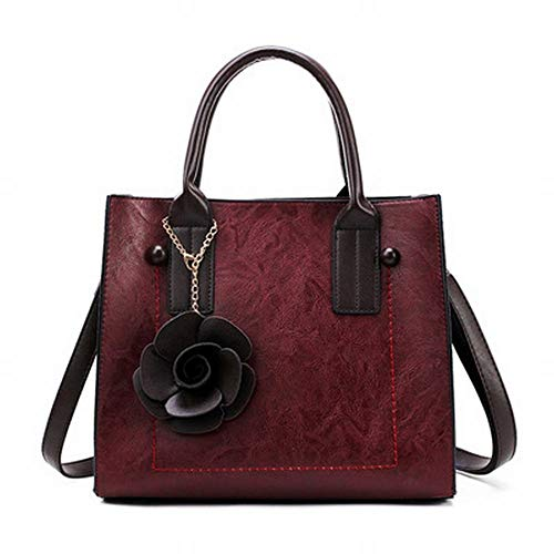 Vintage Per Yy3 color Wine Red Mano Red Borsa Borse Donna Tracolla Jessiekervin A aI0aw