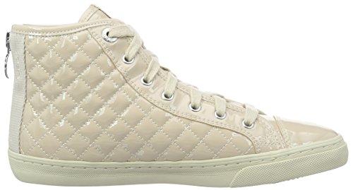 Geox Giyo - Sneakers Hautes - Femme Beige (Skinc8182)