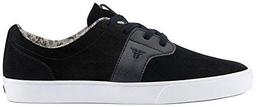 Fallen Men's Chief XI Skateboard Shoe, Flat Black/Black, 10.5 M US by Fallen