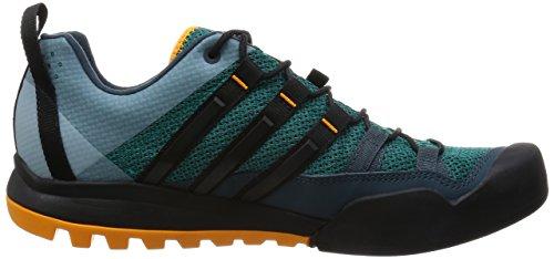 adidas Terrex Solo, Scarpe da Escursionismo Uomo Verde (Green/Core Black/Orange)