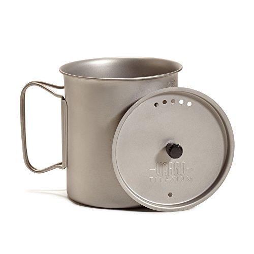 (OKSLO Titanium ti-lite mug with top 750 ml)
