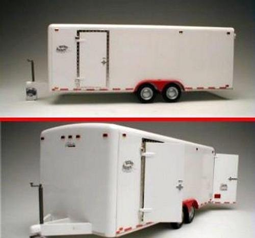 Tandem Two-Axle Tag-Along 21-Ft Trailer 1-24/1-25 Galaxie - Gooseneck Flatbed Trailer