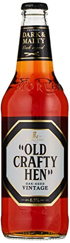 Old Crafty Hen Bottle Old Crafty Hen Ale, 500 ml bottle, Case of 8, 194528