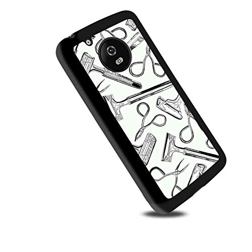 Scissors and Razors TPU Case Fits for Motorola Moto G6 (2018) (5.7 Version) ()