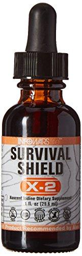 Survival Shield X-2 Nascent Iodine, 1fl. oz.